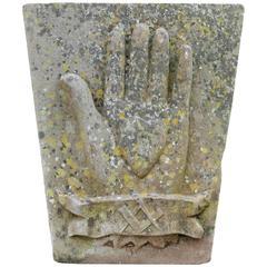 Antique Hand-Carved Sandstone Keystones