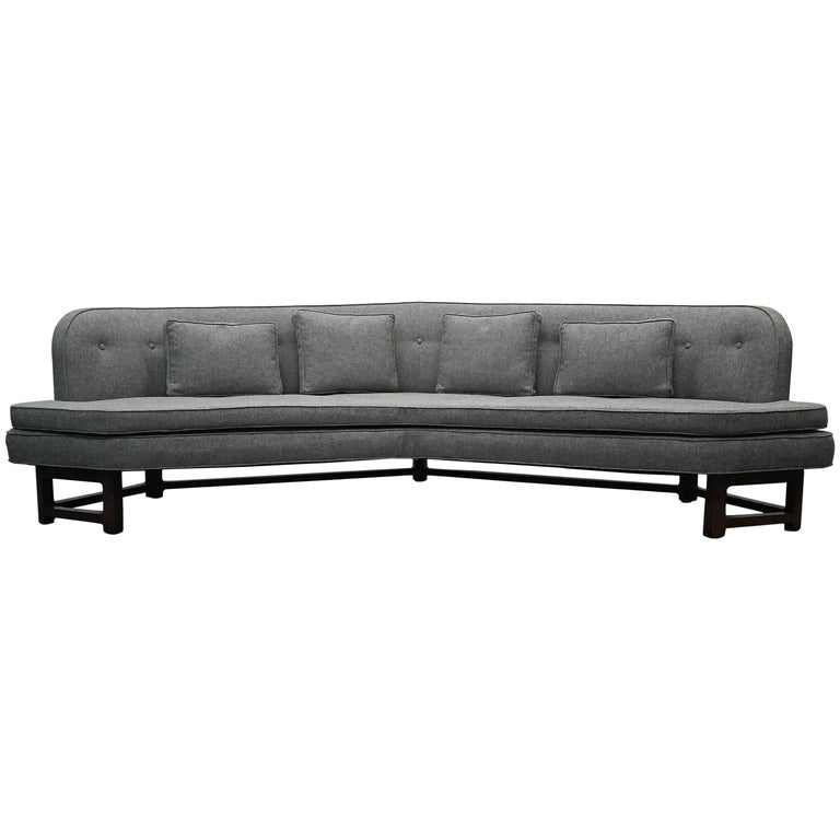 Large Mid-Century Janus Sofa by Edward Wormley for Dunbar For Sale