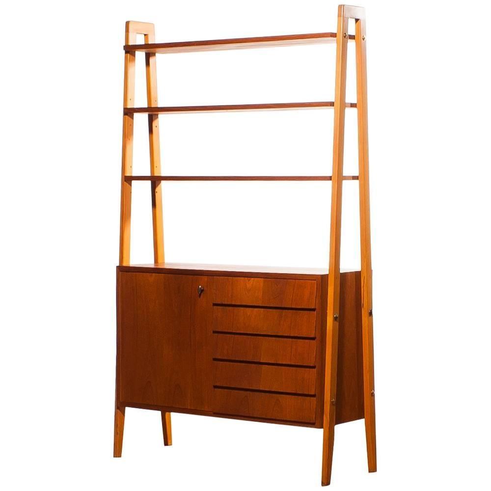 1950s, Teak Cabinet/Room-Divider, Sweden For Sale at 1stdibs