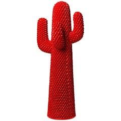 Gufram Rosso Cactus Coat Hanger by Guido Drocco and Franco Mello
