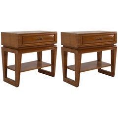 Pair of Night Stands by Paolo Buffa, 1940s