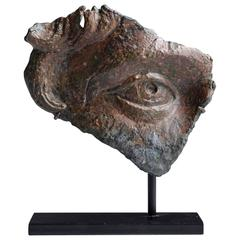 Fragment of a Lifesize Roman Bronze Statue, 170 AD