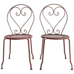 Set of 45 Iron Garden Chairs