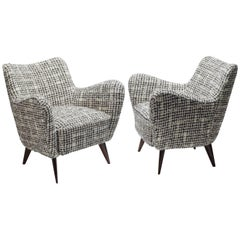 Pair of Perla Armchairs in the style of Veronesi