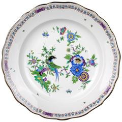 Beautiful Great Meissen Plate Kakiemon Indian Painting