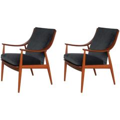 Peter Hvidt for John Stuart Pair of Lounge Chairs