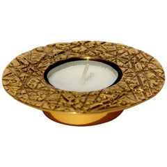 Brass Cast Kutch Tealight Holder