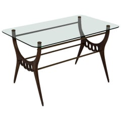 Elegant Low Table, Italy, 1950s
