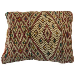 Moroccan Handwoven Tribal Berber Pillow