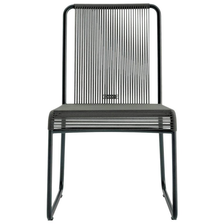Roda Harp Dining Chair Without Arms for Outdoors/Indoors in 5 Color Combinations For Sale