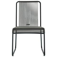 Roda Harp Dining Chair Without Arms for Outdoors/Indoors in 5 Color Combinations