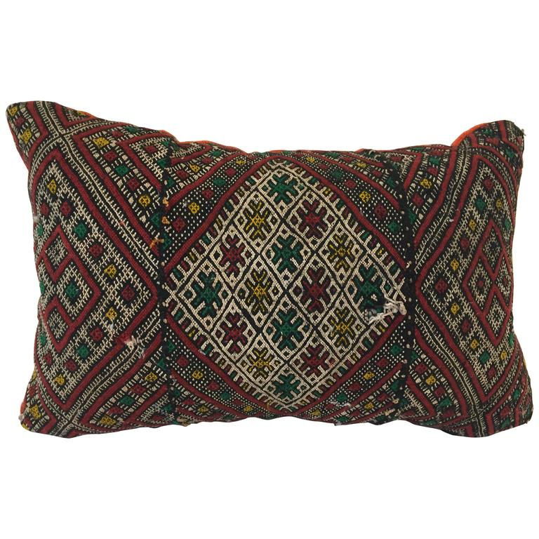 Moroccan Tribal Throw Pillow For Sale