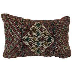 Moroccan Tribal Throw Pillow