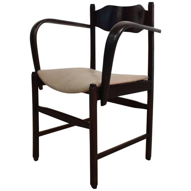 Early 20th Italian Art Deco Armchair For Sale