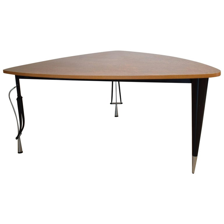 Mid 20th century memphis dining table by perry king and santiago miranda for sale at 1stdibs - King furniture dining table ...