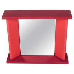 Pink Memphis Table Mirror by Marco Zannini, 1990s