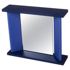 Purple Memphis Table Mirror by MarCo Zannini, 1990s