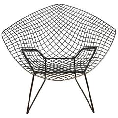 Harry Bertoia Black Diamond Chair