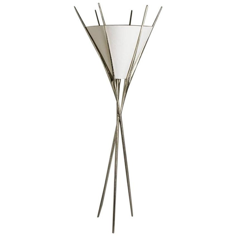 Impala, Floor Lamp, Made of Bronze, Made in France by Charles Paris