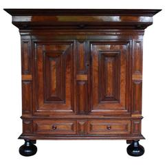 18th Century Dutch Renaissance Cabinet