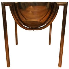 Brueton Bronze Side or End Table by J Wade Beam