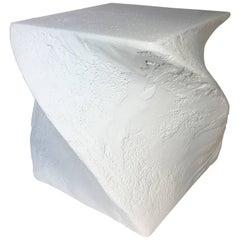 Postmodern Sculptural Plaster Table