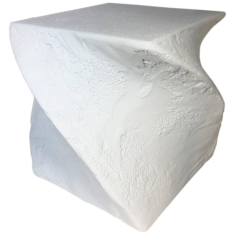 Postmodern Sculptural Plaster Table