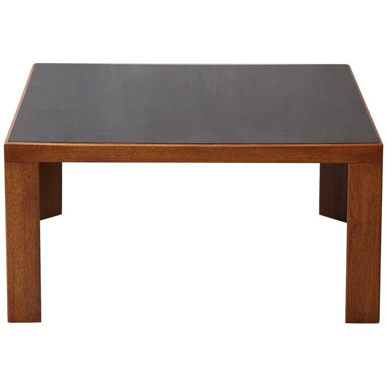 Dunbar Walnut Coffee or End Table Model # 3374 by Edward Wormley