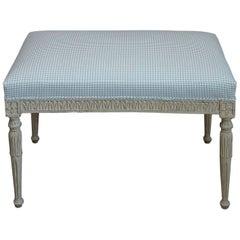 19th Century Gustavian Style Bench