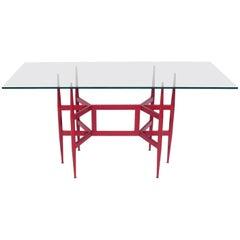 Sculptural Italian Mid-Century Console Table
