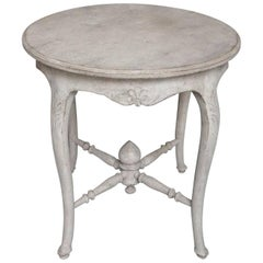 Gustavian Style Round Side Table