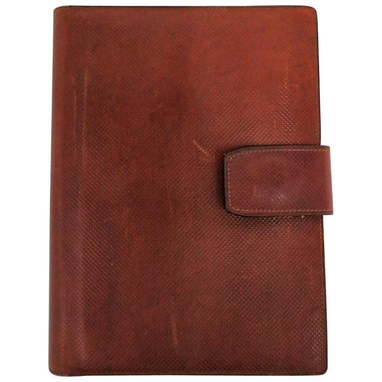 e7ac8f9f4 Bottega Veneta Italian Leather Address and Note Pad Agenda For Sale ...