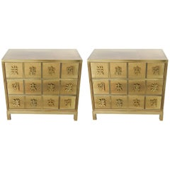 Pair of Mastercraft Chests of Drawers, 1970s