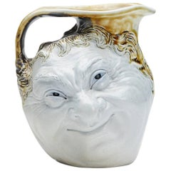 Robert Wallace Martin Face Jug Martin Brothers, Early 20th Century