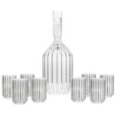 Margot Decanter and Eight Dearborn Mini Glass Set