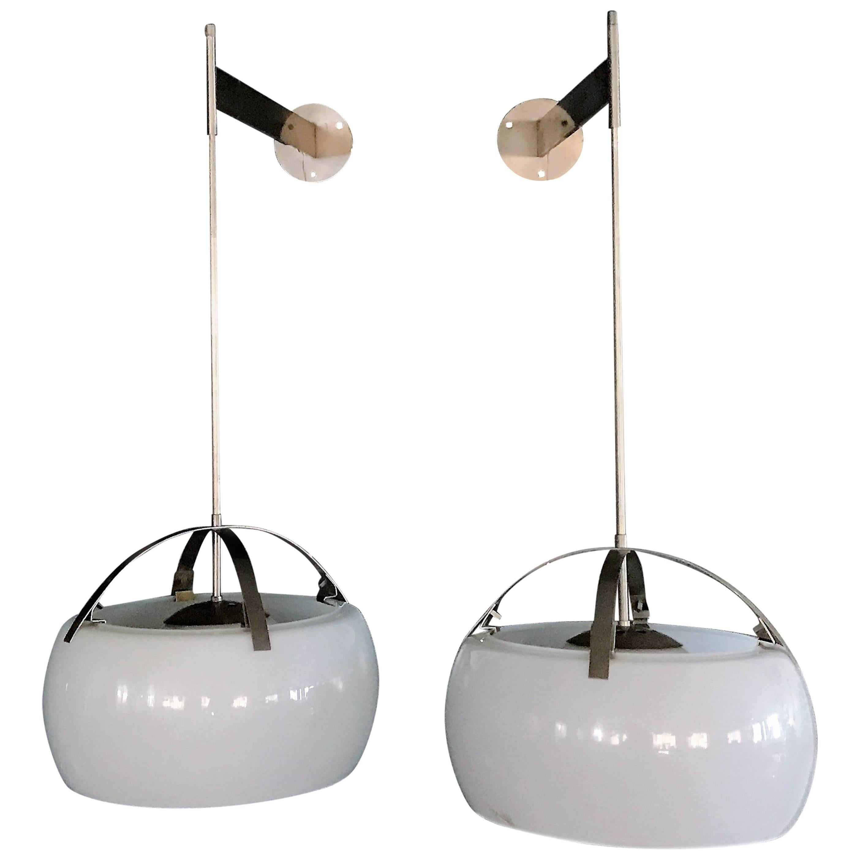 1960S Sergio Mazza Sigma Wall Or Ceiling Light For Artemide