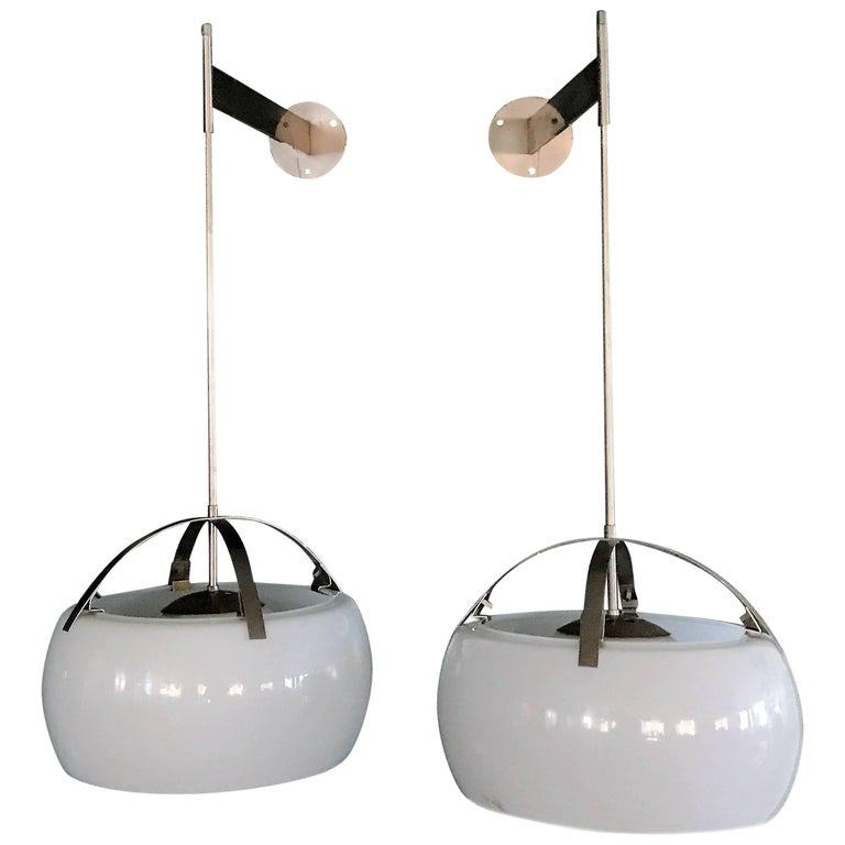 """Adjustable """"Clinio"""" Wall Lights by Vico Magistretti for Artemide"""
