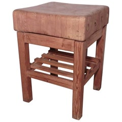 Vintage Sycamore Butchers Block, Kitchen Island