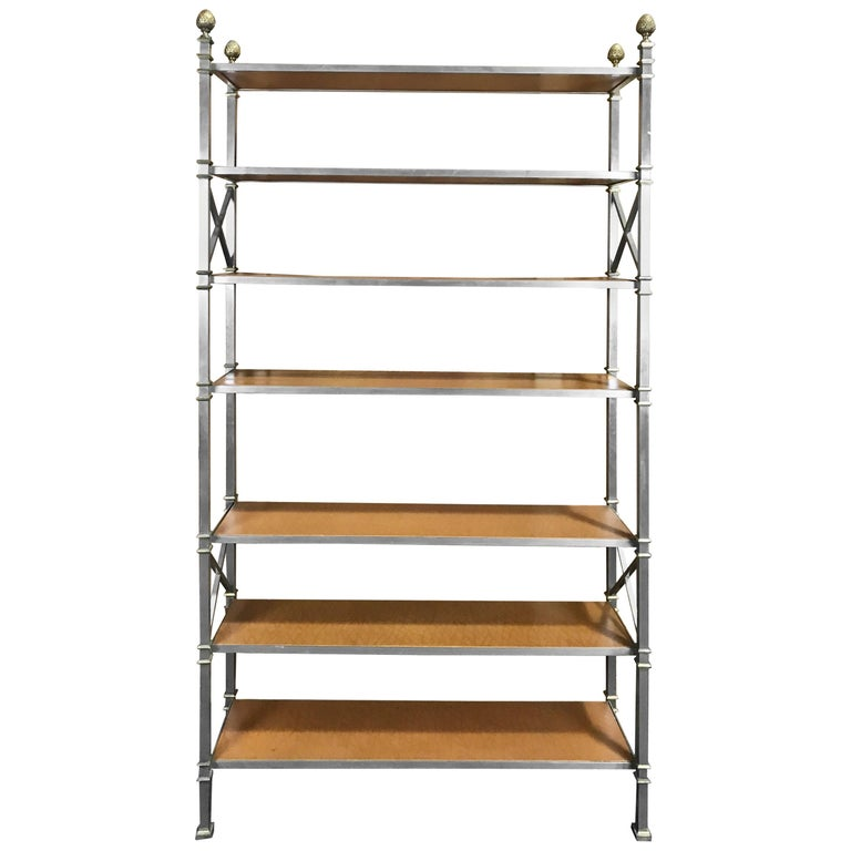 maison jansen neoclassical bookcase or etagere for sale at 1stdibs. Black Bedroom Furniture Sets. Home Design Ideas