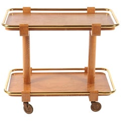Sculptural Mid-Century Modern Drinks Cart or Bar Cart