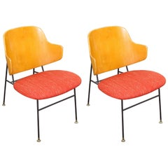 "Pair of Vintage ""Penguin"" Chairs by Kofod-Larsen"