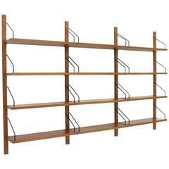 Poul Cadovius Royal Teak Book Shelf, Bookcase Cado Denmark