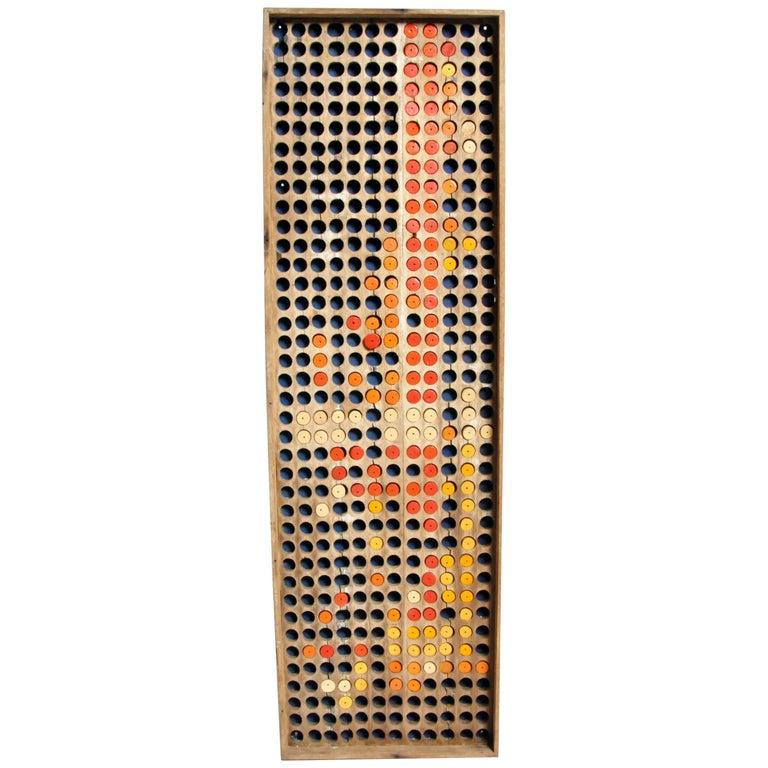 Teak Wood Panel Wall Art