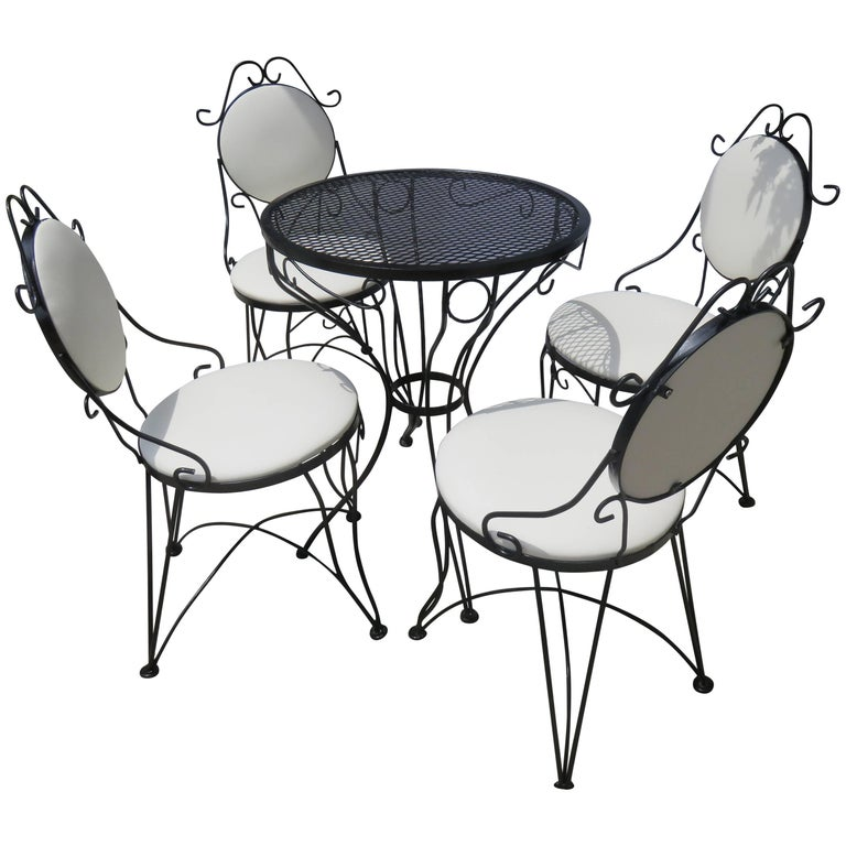 Woodard Mid-Century, 1950-1950, Bistro Set For Sale