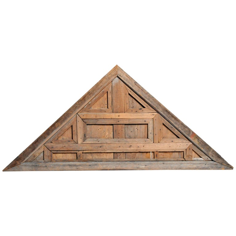 Architectural Wood Pediment : Pediment wood carving for sale at stdibs