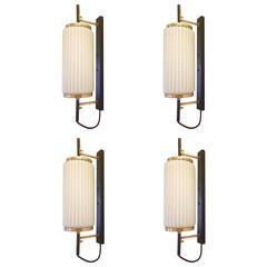 Stilnovo Set of Four Sconces