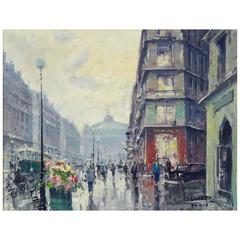 Avenue De L'Opera by Jean Salabet