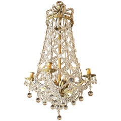 Antique French Crown Chandelier