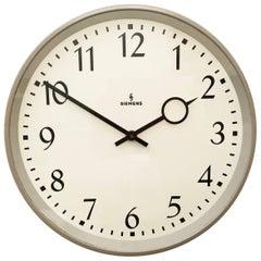 Siemens Factory or Workshop Wall Clock