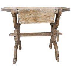 French 19th Century Primitive Wood Table